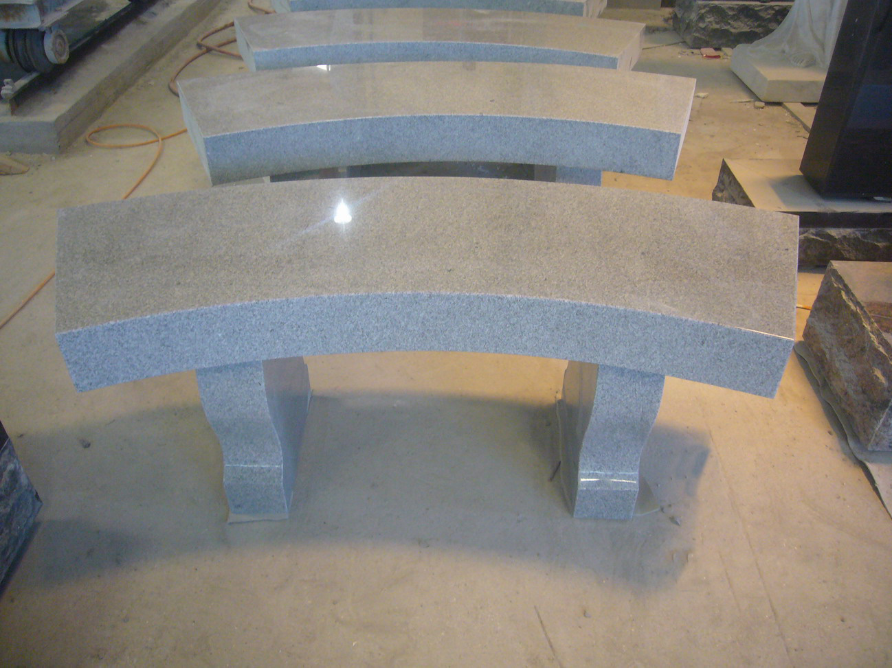 Granite and Marble Benches
